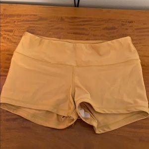 Fleo x Vull spandex shorts